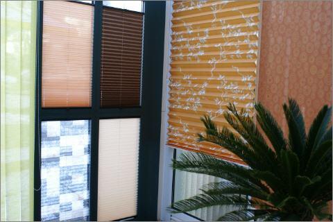Dekorativer Sonnenschutz Innen
